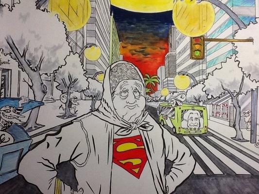 ilustrasoles - Abuelos