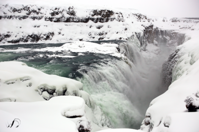 Winedale Photography - Gullfoss drops