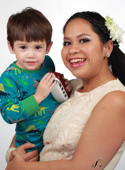 Winedale Photography - Nephew and auntie