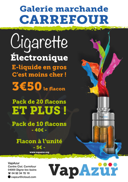 stevenmiagat - Flyer Cigarette shop Electronique + 4/3