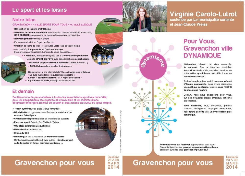 stevenmiagat - tract politique Mairie Gravenchon