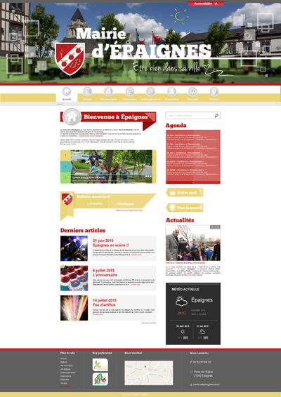 stevenmiagat - Test maquette site web Epaignes responsive