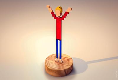 stevenmiagat - trophée 3D C4D