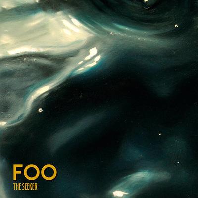 Núria Farré - Painting - Artwork design for FOOs album The Seeker (2016)