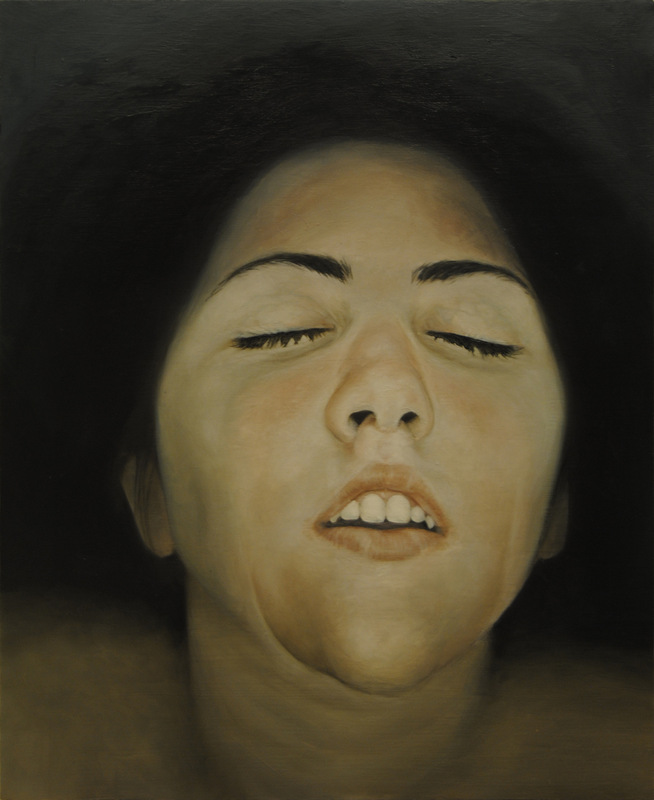 Núria Farré - Painting - Judit II - Oil on panel 46x38cm [2013] [SOLD]