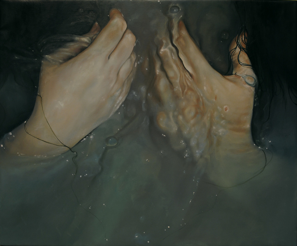 Núria Farré - Painting - Molten - Oil on canvas 60x73cm [2014]