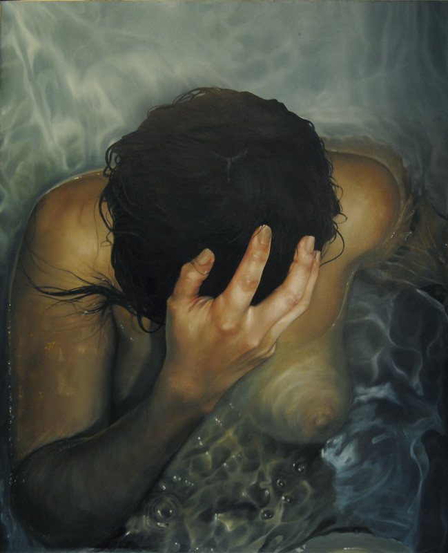 Núria Farré - Painting - Awakening - Oil on canvas 60x73cm [2014]