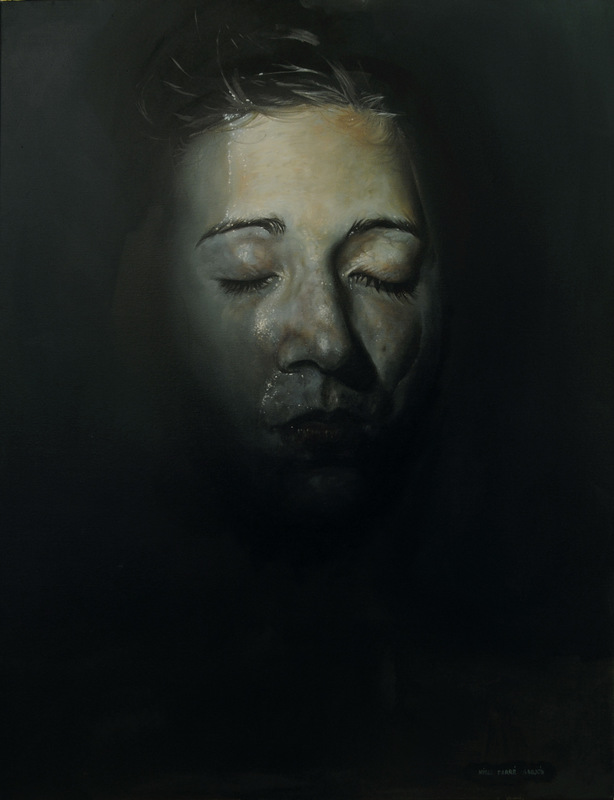 Núria Farré - Painting - Absolute Isolation - Oil on canvas 116x89cm [2015]