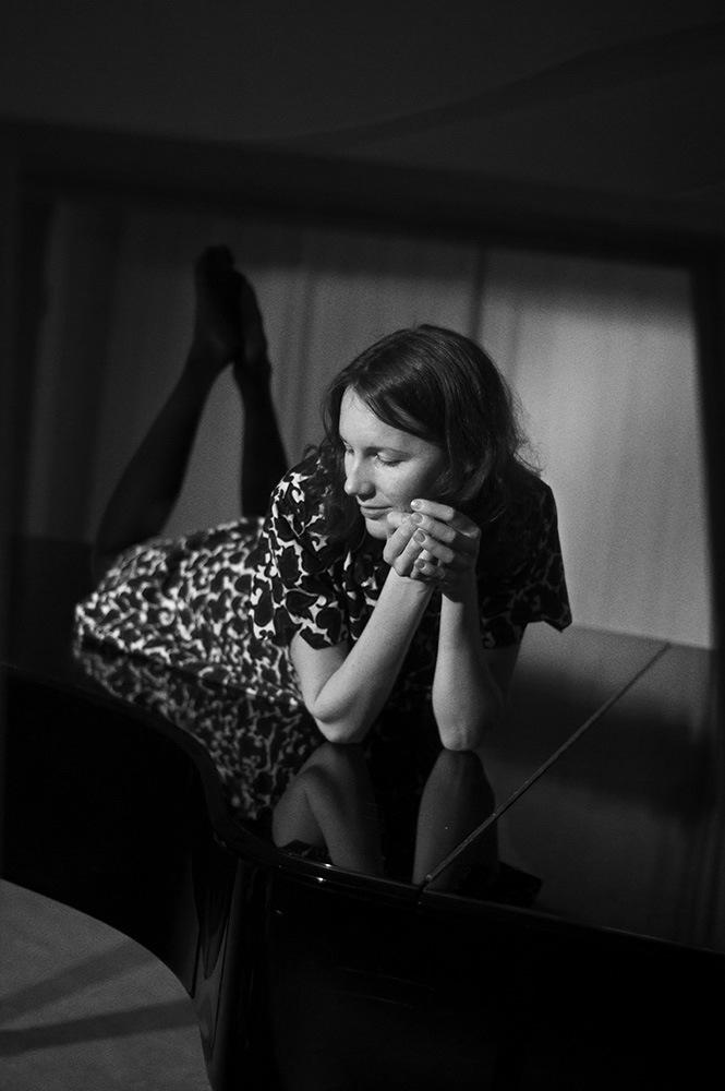 Mareike Timm | Photo Journalist - Åsa Bergqvist, Swedish pianist. Freelance, 2012.