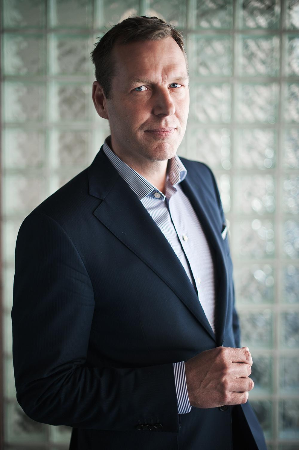 Mareike Timm | Photo Journalist - Johan Dennelind, CEO Telia Sonera. For Fokus, 2014.