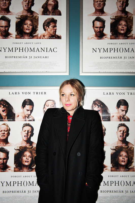 Mareike Timm | Photo Journalist - Reporter Annah Björk is going to see Lars von Triers film Nymphomaniac. For Fokus, 2014.