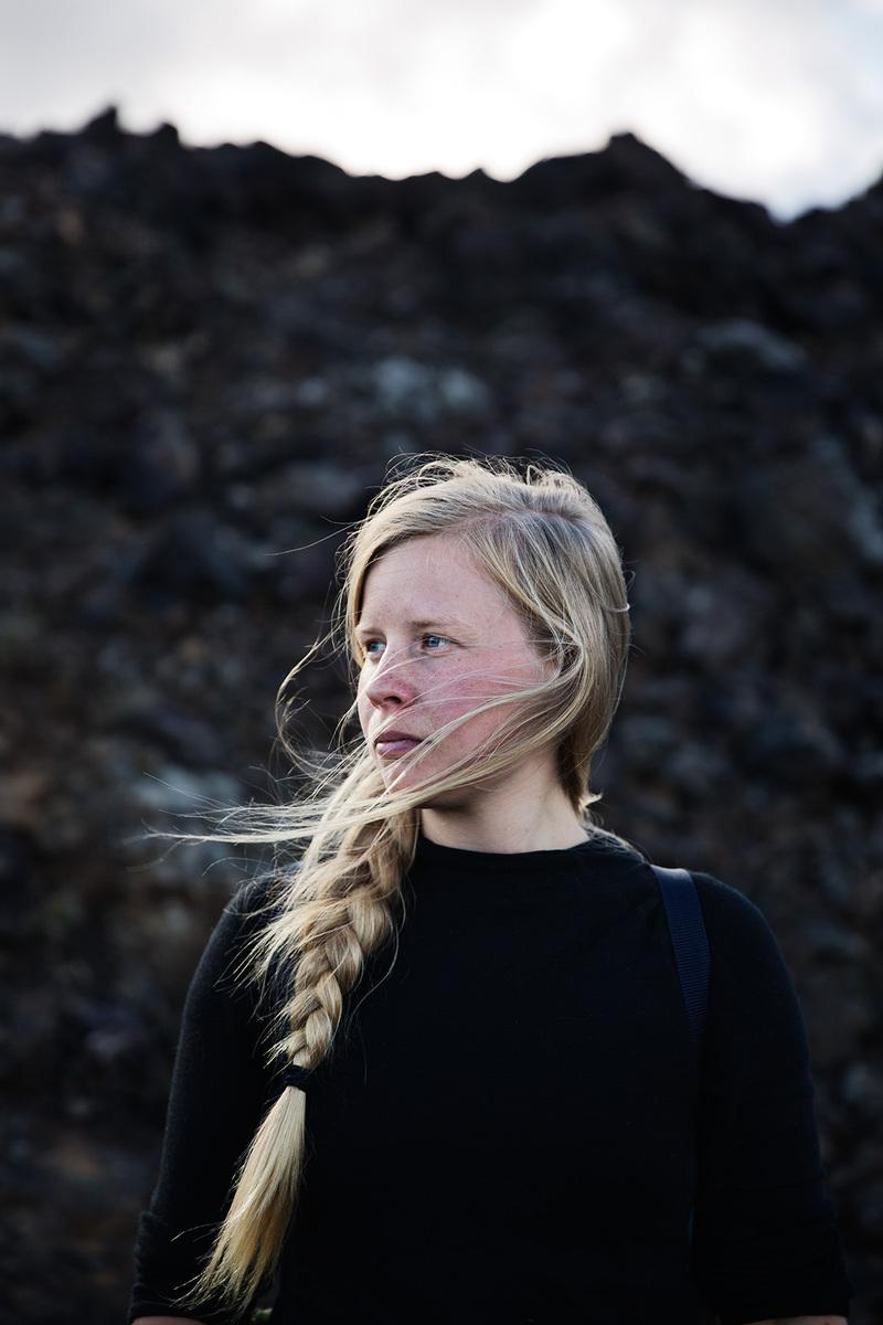 Mareike Timm | Photo Journalist - Swedish photo journalist Jessica Segerberg. Iceland 2018.