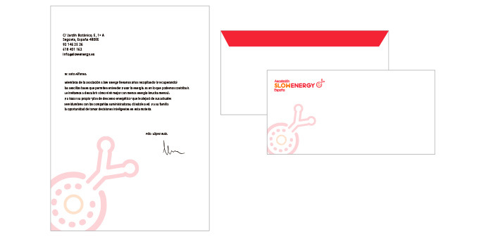 Ana Rubio Art - corporate stationery: letter and envelope