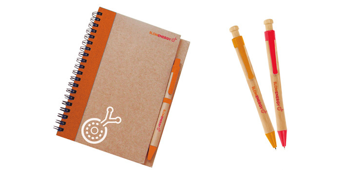 Ana Rubio Art - merchandising: notebook and pen