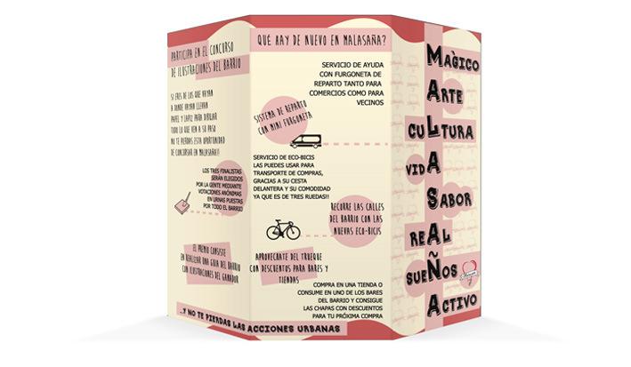 Ana Rubio Art - brochure exterior design