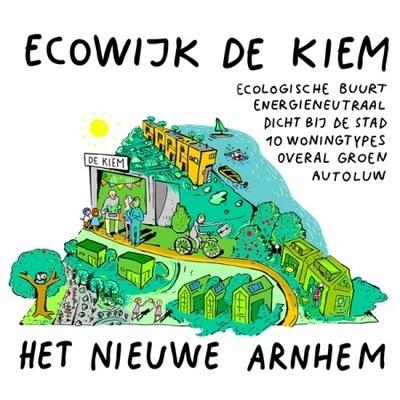 Dienst voor data visualisatie - Illustratie voor nieuwe ecowijk in Arnhem. Gepubliceerd op een pagina van www.duurzaamgebouwd.nl. Hier de link naar de bron.