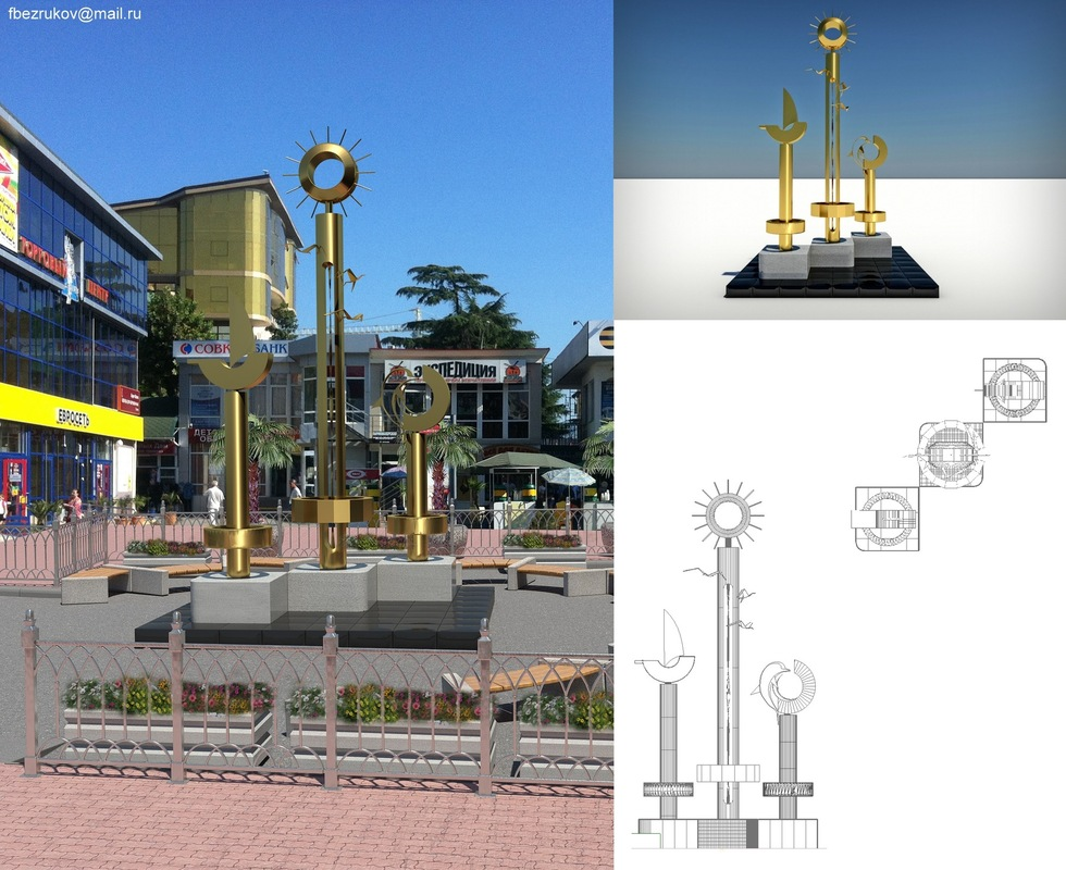 Fedor Bezrukov - Oganes cam1 3DMax, VRay, Photoshop