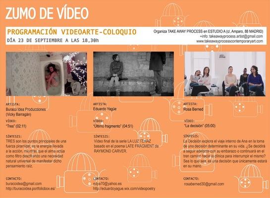 BURACOIDEA - muestra de videoarte en Madrid