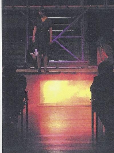 """Peter Stax - April 2001, """"Jeanne"""" (""""Saint Joan"""" van G.B. Shaw)"""
