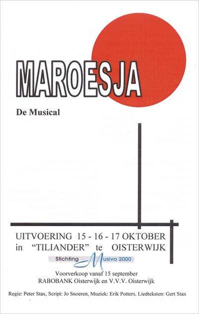 Peter Stax - Oktober 2004, Maroesja