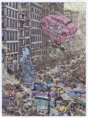 Boris Blauth Art - motor city