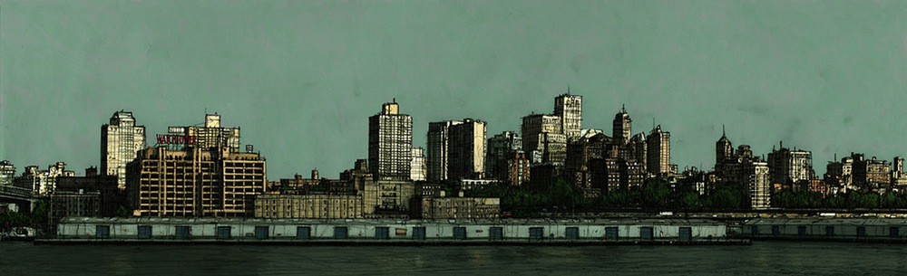 Boris Blauth Art - watchtower
