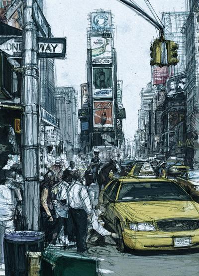 Boris Blauth Art - time