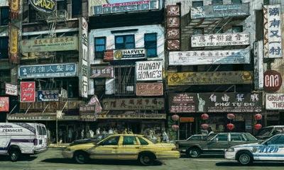 Boris Blauth Art - china town