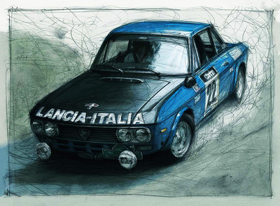 Boris Blauth Art - Lancia Fulvia