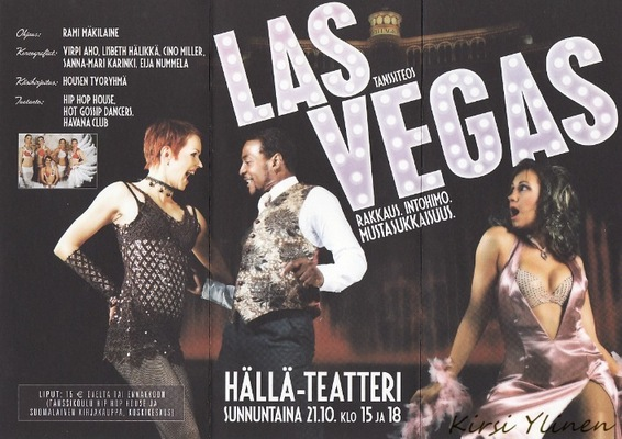 Kirsi Ylinen - Las Vegas show - esite 1
