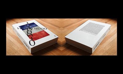 A. Kakolyris Graphic Design - Les Misérables Victor Hugo