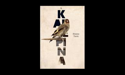 A. Kakolyris Graphic Design - Η Καρδερίνα Donna Tartt