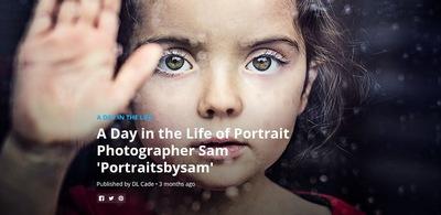 PORTRAITSBYSAM - Interview par 500px, plate forme mondiale pour les photographes CLIQUER ICI