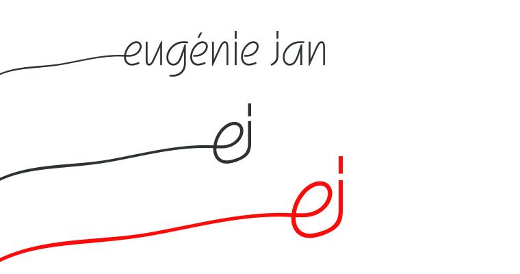 Isabelle Secher - Eugénie Jan/ Artiste plasticienne, signature