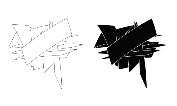 Isabelle Secher - Eugénie Jan/ Artiste plasticienne, étude graphique