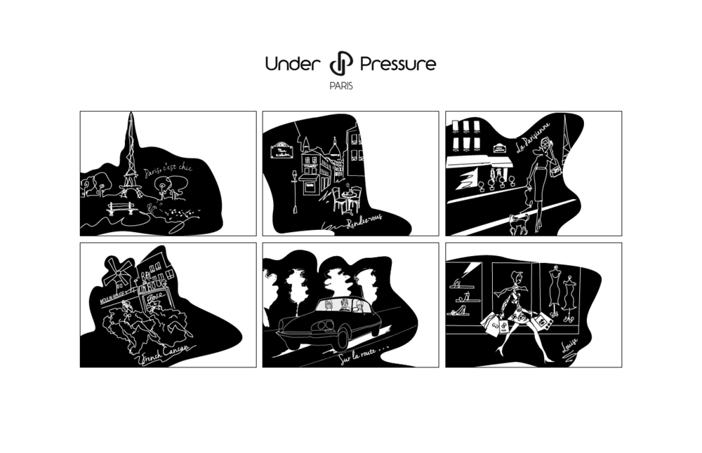 Isabelle Secher - Under Pressure, illustrations