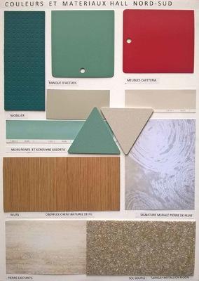 marie leger architecte - Palette de couleurs