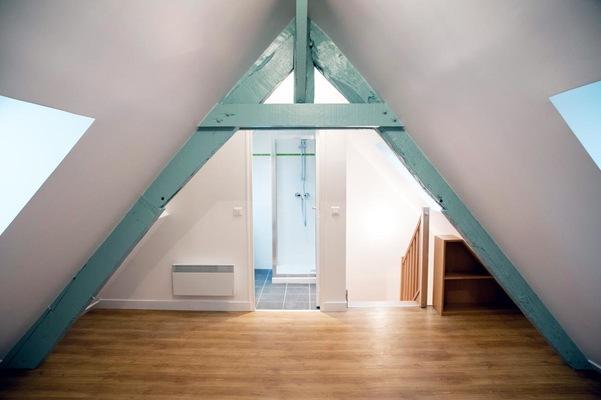 marie leger architecte - Réhabilitation logement Groslay