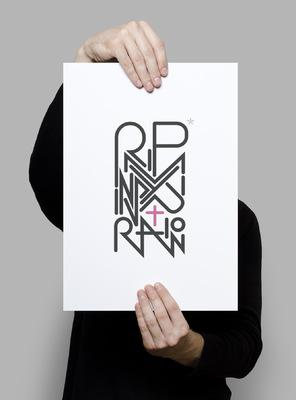 Benoît CHADIAN Graphiste - Poster - RIP my inspiration