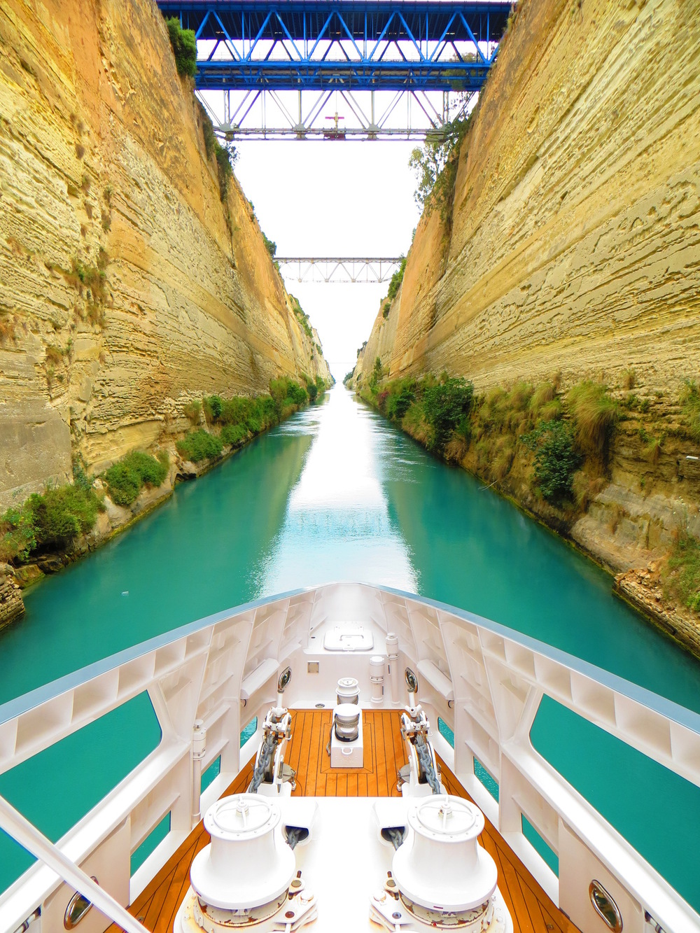 COLOUR-AND-SHAPE Photography - Corinth Canal, Greece - May 2014