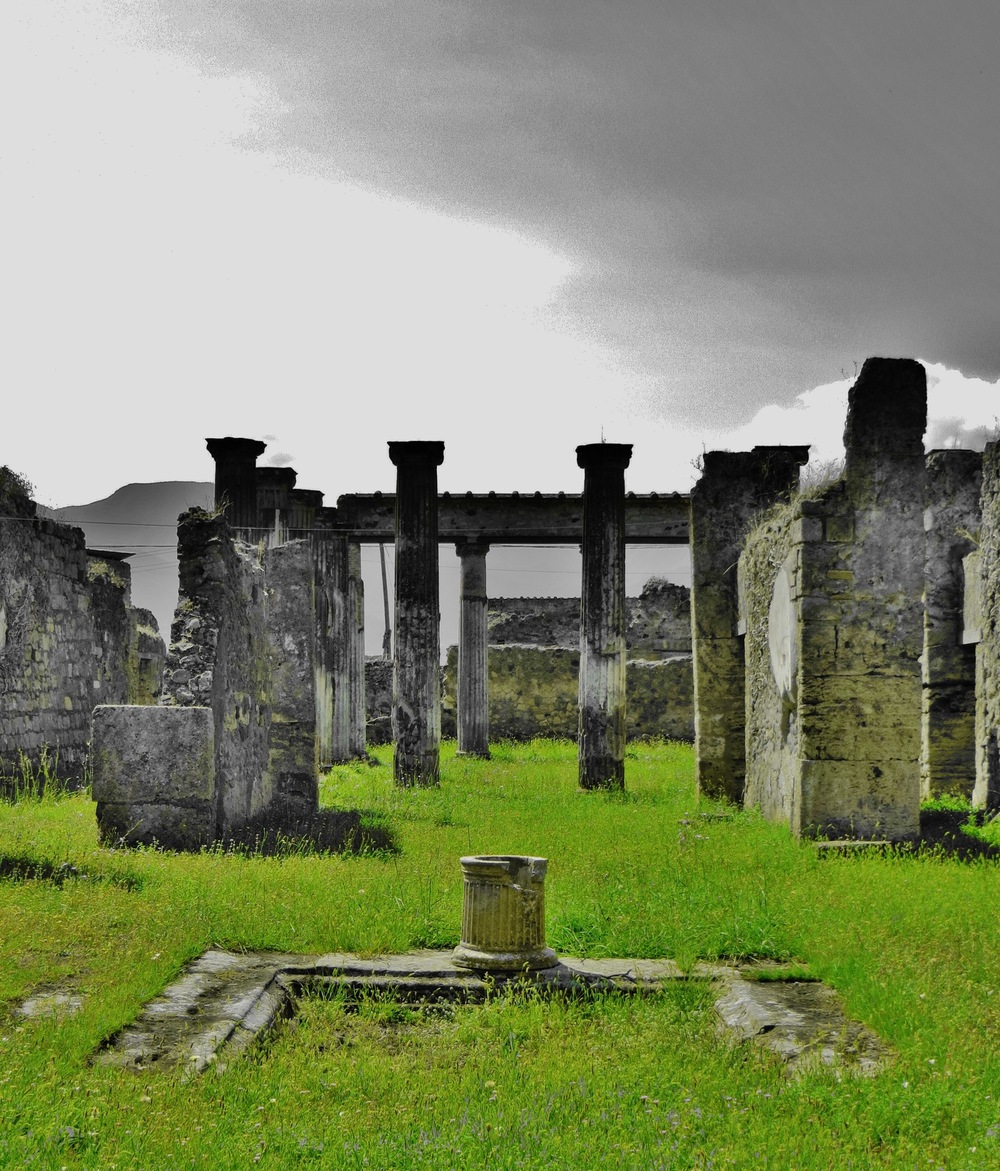 COLOUR-AND-SHAPE Photography - Pompei, Italy - August 2014