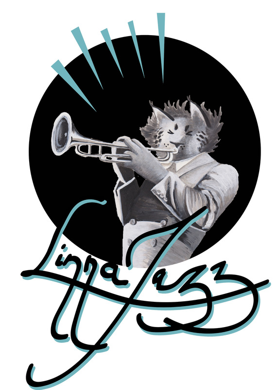tiinavarrio - Akryyli, Photoshop ja Illustrator. Linna Jazzille suunniteltu t-paitaprintti.