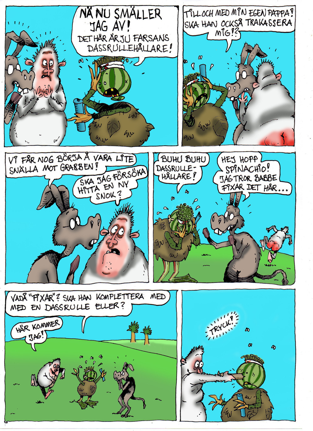 Clodpoll Comics - Sida 5