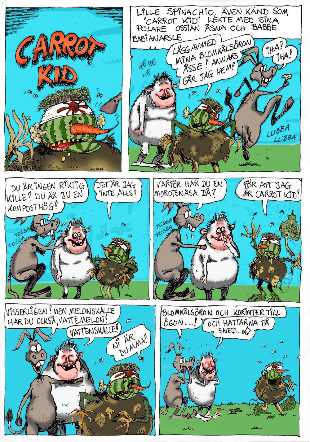 Clodpoll Comics - Sida 1
