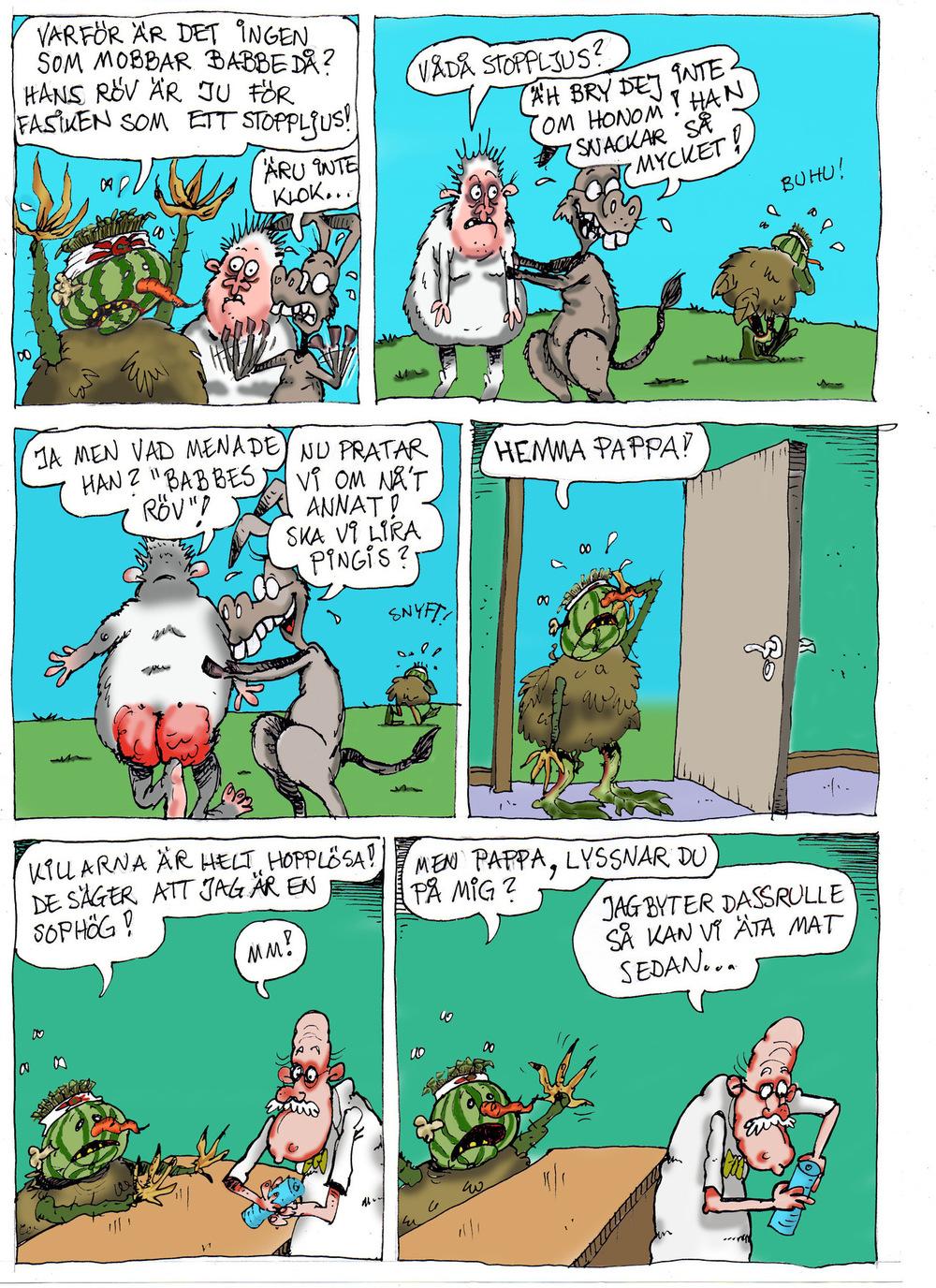 Clodpoll Comics - Sida 2