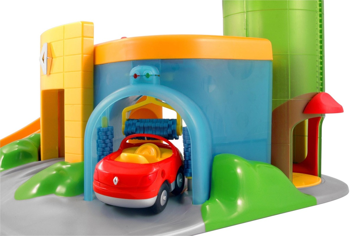 Christophe Gilet Design - 2002 Garage for Renault toys - Norev