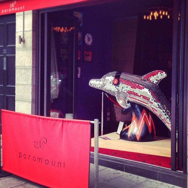 WINDOW DISPLAYS I EVENT STYLING I PROPS I CUSTOM ARTWORK I EDINBURGH - On display at Paramount Bar Aberdeen