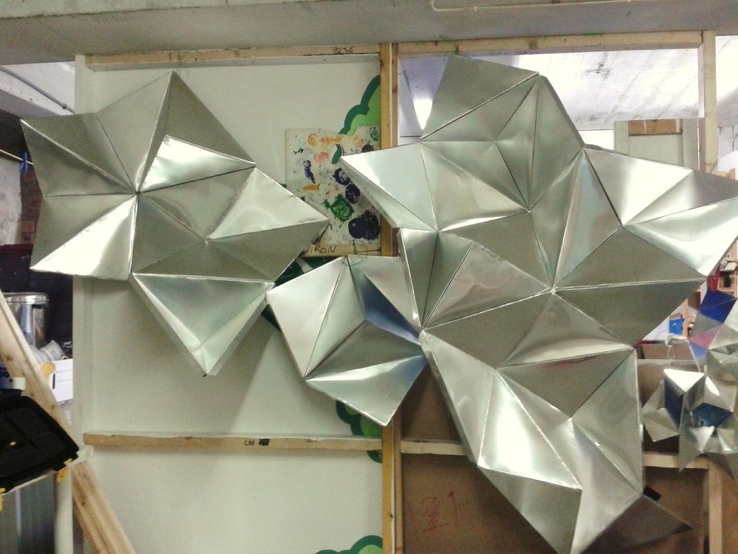 WINDOW DISPLAYS I EVENT STYLING I PROPS I CUSTOM ARTWORK I EDINBURGH - Work in progress in studio