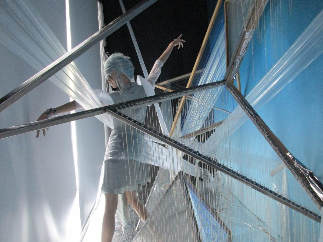 WINDOW DISPLAYS I EVENT STYLING I PROPS I CUSTOM ARTWORK I EDINBURGH - Geometric Heaven April 2016