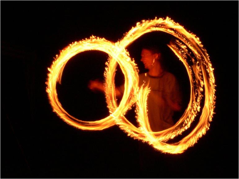 Lumix Challenge - Fire circles 1